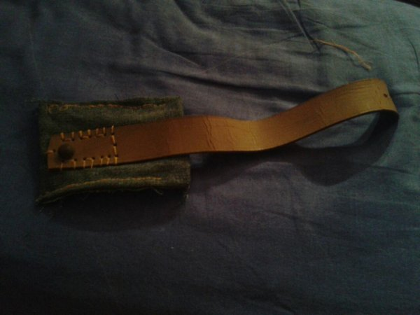 L'utilité des vieux Jean et vieille ceinture