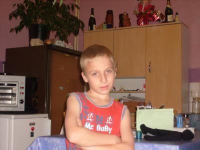 Me voila étant jeune.