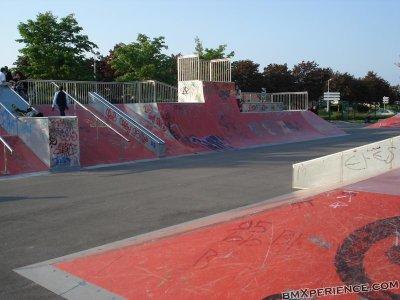 skate park de cergy st christophe