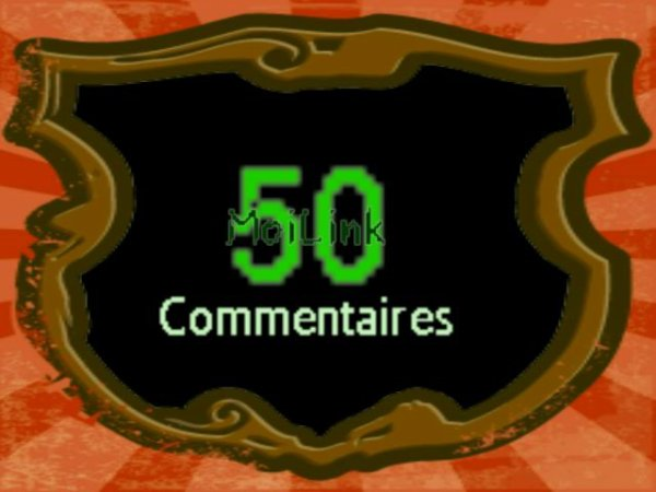 50 Commentaires !