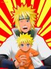 Minato et son fils ^^