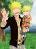 Encore Minato et son fils (trop chou Naruto) <3