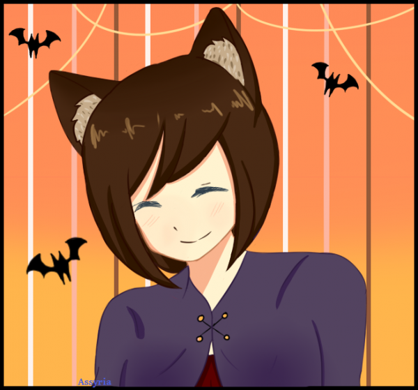 Halloween en retard (et non fini en plus olala) + OC sans noms, gg Assy