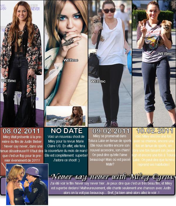 ' Candids + Event : Je suis de retour, alors voici les news!. Comment trouvez vous le style de Miley? À vous de commentez! '