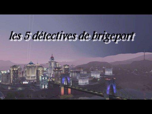 les 5 détectives de brigeport
