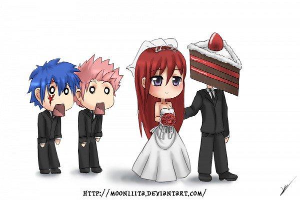 Le mariage d'Erza *o*