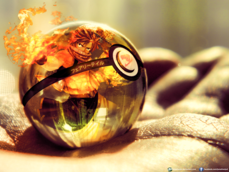 Fairy Tail en Pokéball *-*