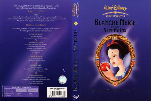 Blanche Neige: dvd (2)