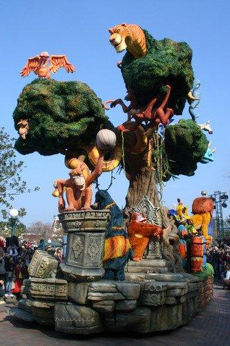 """Le livre de la Jungle à Disneyland Paris - """" Et tout a commencé par une souris """"..."""