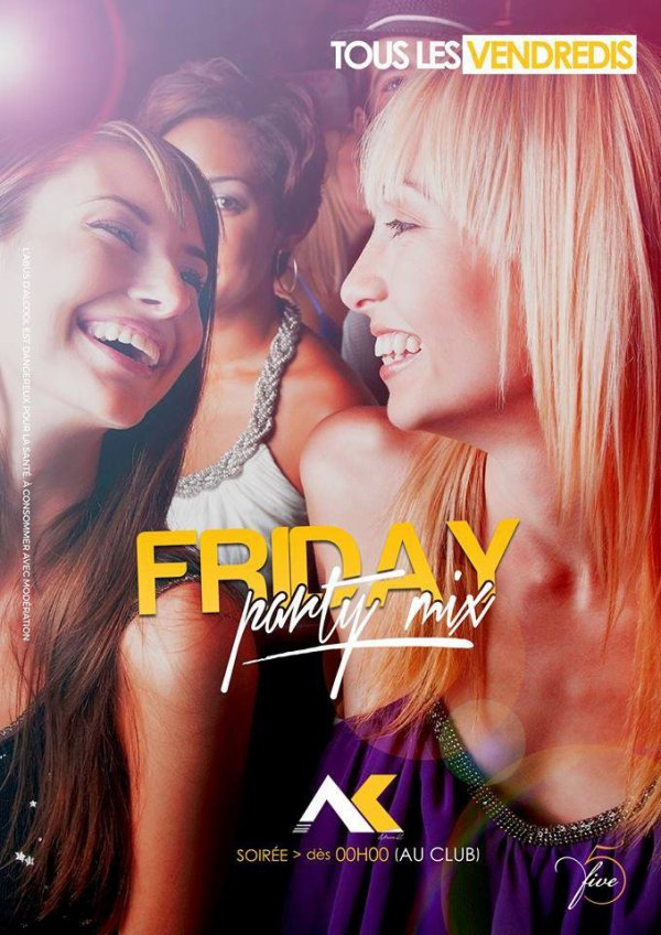 Official resident deejay every fridays
