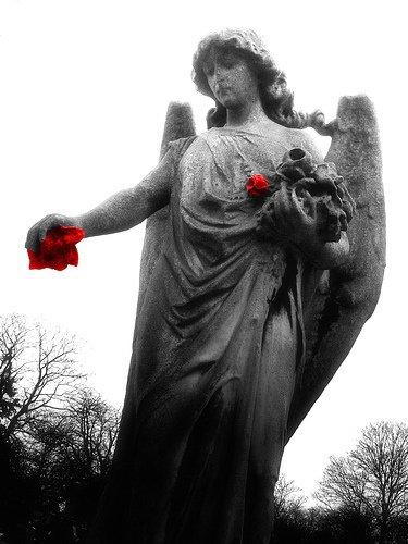 ange de pierre