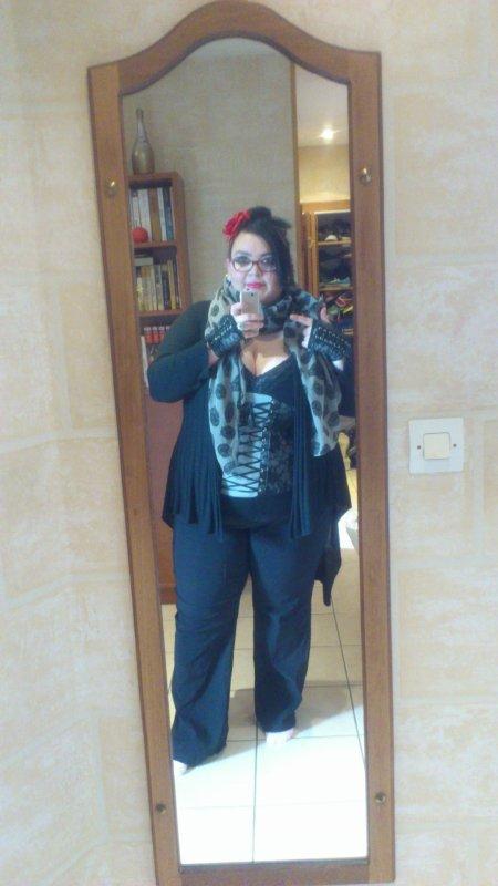 je me sent mieux habiller en noir