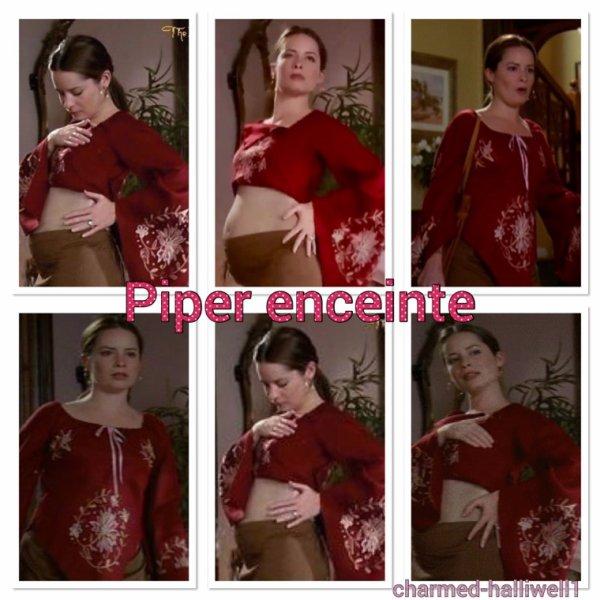 Piper enceinte