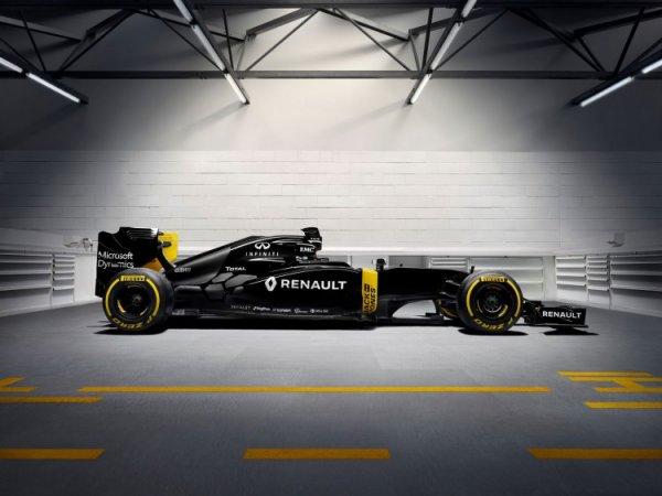Renault présente sa nouvelle monoplace R.S. 16 !