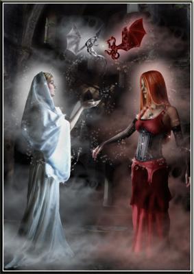 mi-ange mi-démon (ecrit par moi même)