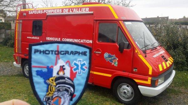 Véhicule de Communication du CI de ST Gérant de Puy