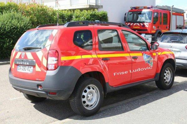VLHR Dacia Doster vue arrière du CI de Dompierre