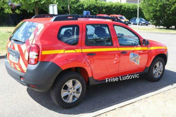 VLHR Dacia Doster vue arrière du CI de Lapalisse