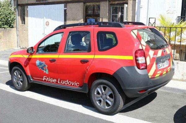 VLHR Dacia Doster vue arrière du CI de Montmarault
