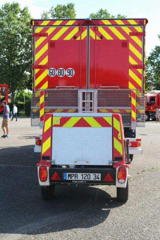 CDHR + MPR vue arrière du CSP de Moulins