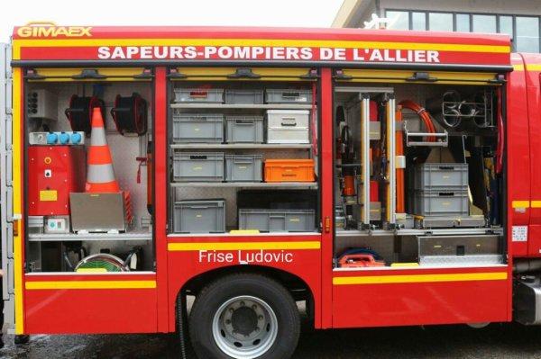 FPTSR vue arrière rideaux ouvert du CSP de Moulins