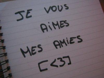 MES AMIES♥♥♥♥♥