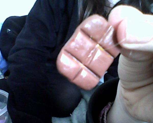 tablette de chocolat en pate fimo