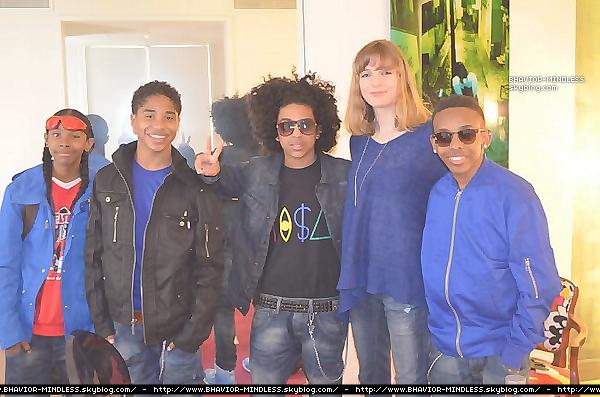 02/05 :Aujourd'hui les Mindless ont été interviewer par le célèbre magasine fan2.