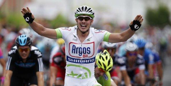 Tour d'Espagne 2012, 2eme étape Pampelune / Viana : premier sprint pour Degenkolb...