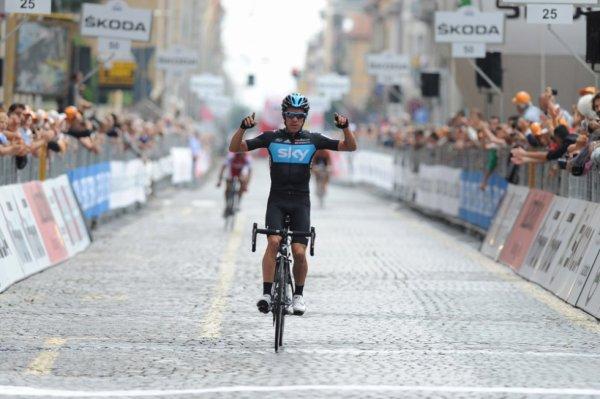Tour du Piémont 2012 : Rigoberto Uran s'impose...