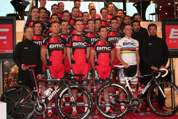 Présentation des équipes 2013 (3) : BMC-Racing Team (World Tour)