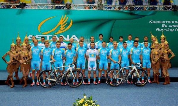 Présentation des équipes 2013 (4) : Astana (World Tour)