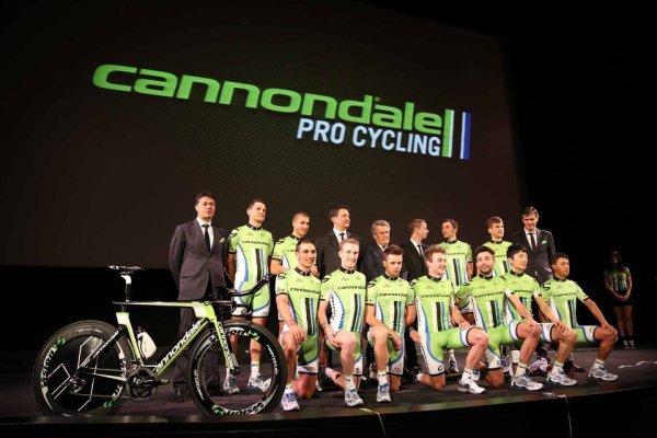 Présentation des équipes 2013 (5) : Cannondale (World TOur)