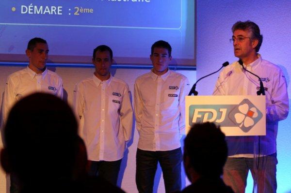 Présentation des équipes 2013 (19) : FDJ (World Tour)
