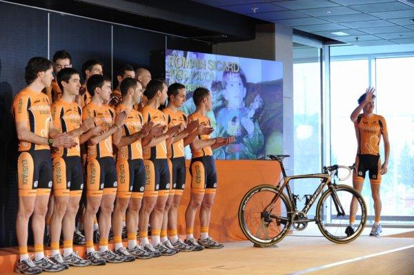 Présentation des équipes 2013 (21) : Euskaltel-Euskadi (World Tour)