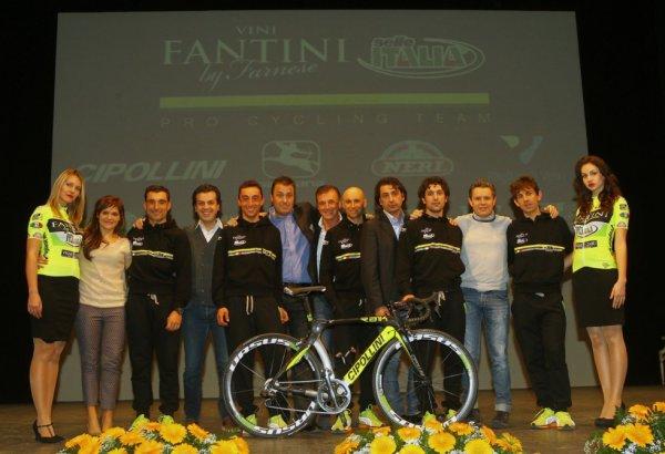 Présentation des équipes 2013 (23) : Vini Fantini-Selle Italia (Continentale Pro)