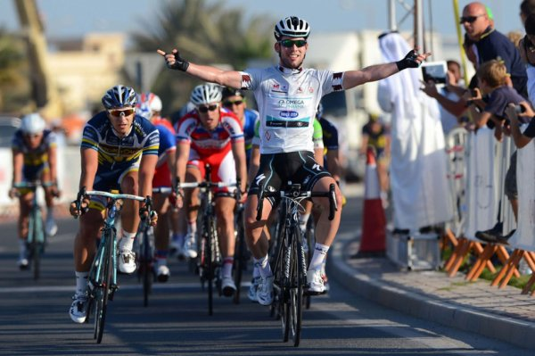 Tour du Qatar 2013 (4eme étape) : Mark Cavendish voit double...