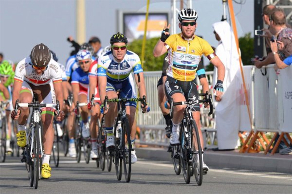 Tour du Qatar 2013 (5eme étape) : Mark Cavendish triple la mise...