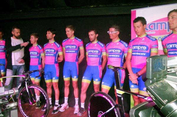 Présentation des équipes 2013 (29) : Lampre-Merida (World Tour)