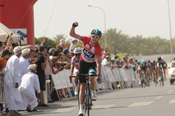 Tour d'Oman 2013 (5eme étape) : Froome gagne et reste leader...