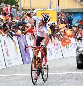 Tour de Langkawi 2013 (3eme étape) : Meiyin Wang, l'échappée belle...