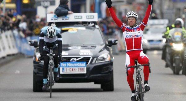 Circuit Het Nieuwsblab 2013 : à 36 ans, Paolini s'impose...