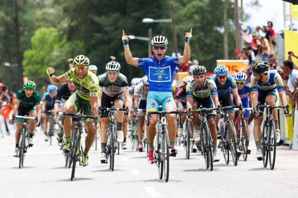 Tour de Langkawi 2013 (7eme étape) : Guardini au sprint...