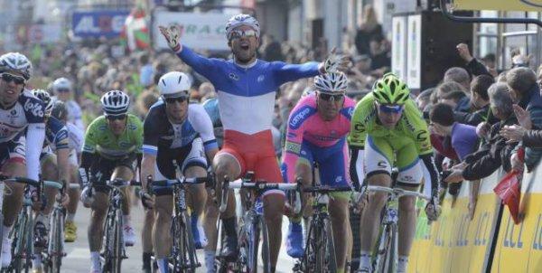 Paris-Nice 2013 (1ere étape) : Nacer Bouhanni fait coup double...