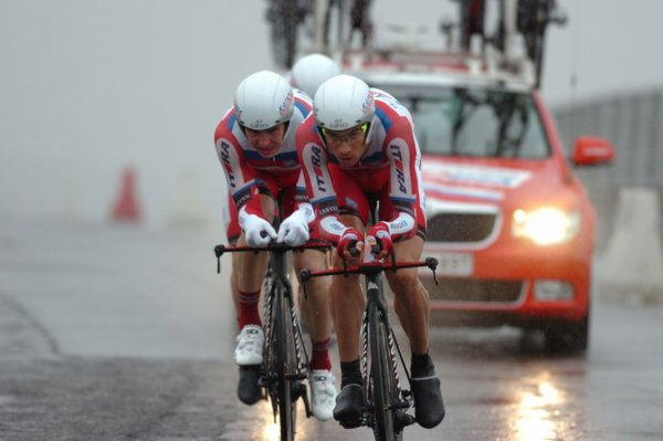 Semaine Internationale Coppi-Bartali 2013 (Etape 1b): Les Katusha transforment l'essai...