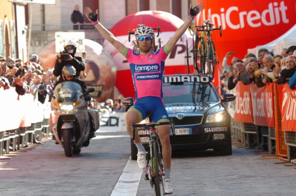Semaine Internationale Coppi-Bartali 2013 (2eme étape) : Coup double pour Diego Ulissi...