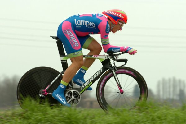 Semaine Internationale Coppi-Bartali 2013 (4eme étape) : Adriano Malori gagne le contre la montre...