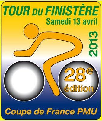 Affiche officielle Tour du Finistère 2013