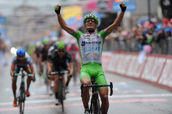 Tour d'Italie 2013 (4eme étape) : Victoire pour Battaglin au sprint, triplé italien...