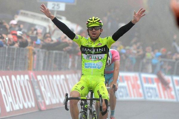 Tour d'Italie 2013 (14eme étape): Santambrogio vainqueur dans la brume, Nibali creuse l'écart...